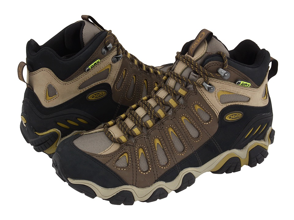 Oboz Sawtooth Mid BDry (Olive) Men's Shoes