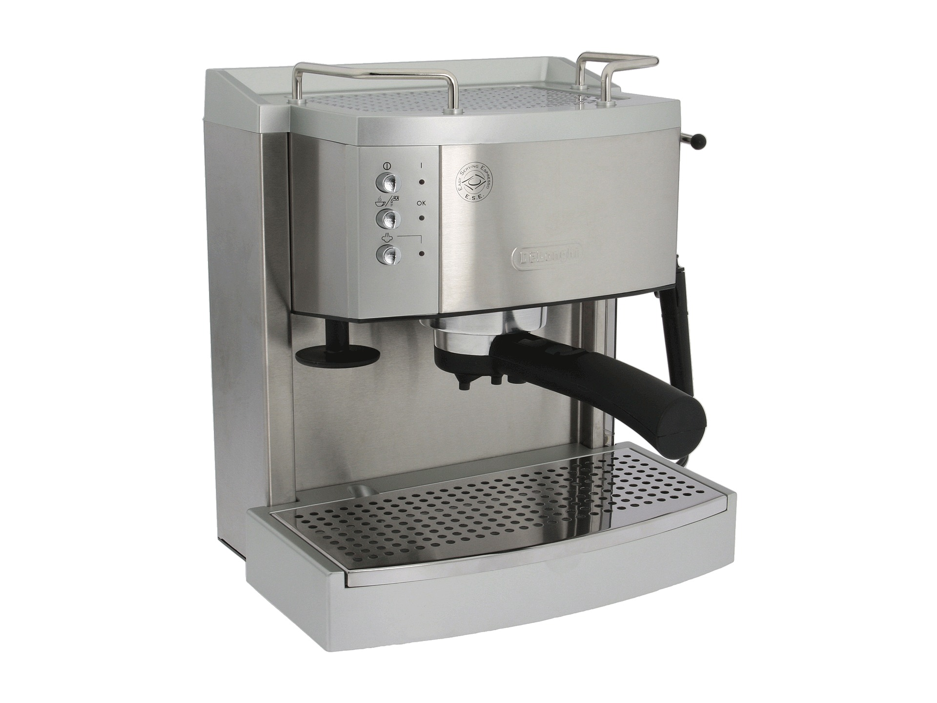 Delonghi Coffee Maker Stainless Steel Espresso : Delonghi Ec702 Pump Espresso Maker Stainless Steel Shipped Free at Zappos