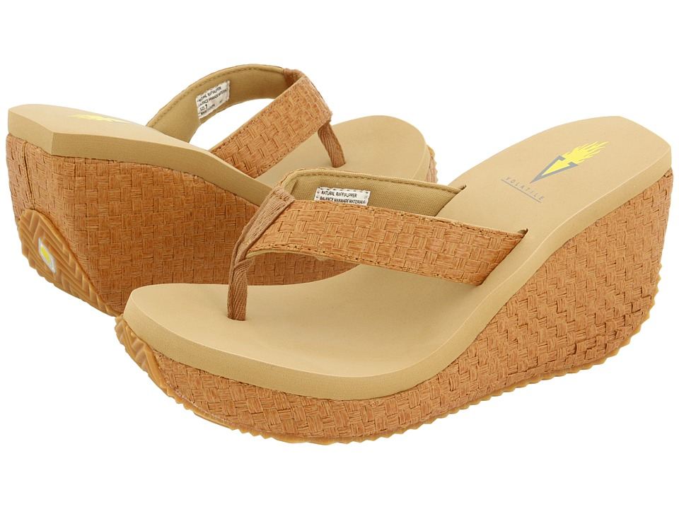 VOLATILE Cha-ching (Tan) Sandals