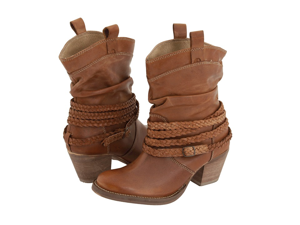 Shop Dingo online and buy Dingo Sole Sister Tan Burnished Cowboy Boots shoes online