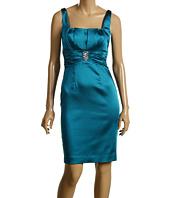 Calvin Klein - Satin Square Neck Cocktail Dress
