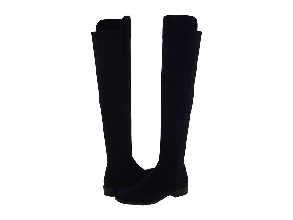 Stuart Weitzman 5050 (Nice Blue Suede) Women's Pull-on Boots
