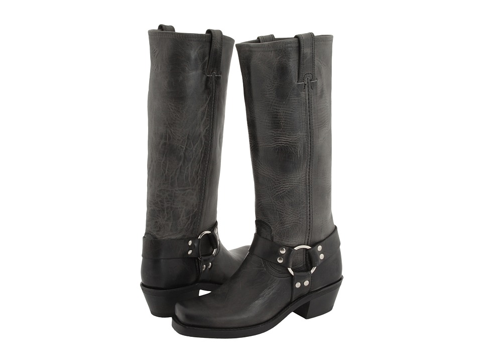Shop Frye online and buy Frye Harness 15R Charcoal Old Town Womens Pull-on Boots online