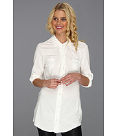 Michael Stars - Luxe Slub Raw Edge Button Down