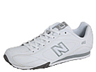 New Balance Classics CW442 White, Silver 2 Shoes
