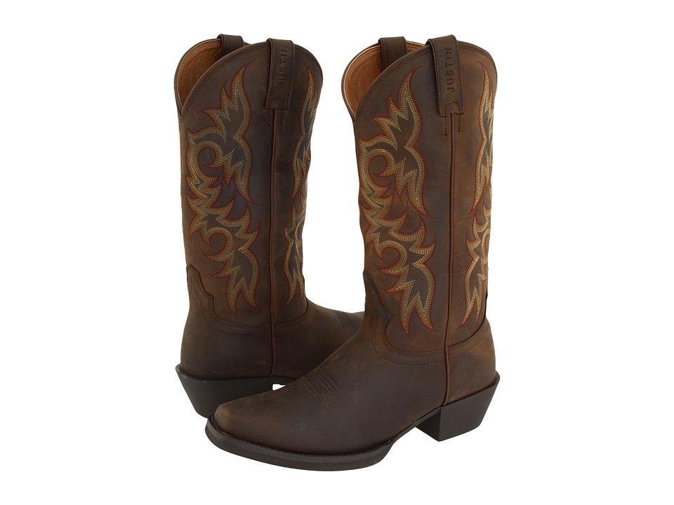 Justin - Quint (Sorrel Apache) Cowboy Boots