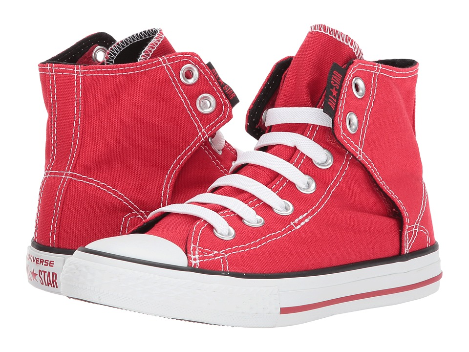 Converse Kids - Chuck Taylorreg All Starreg Easy Slip (Little Kid/Big Kid) (Red) Boys Shoes
