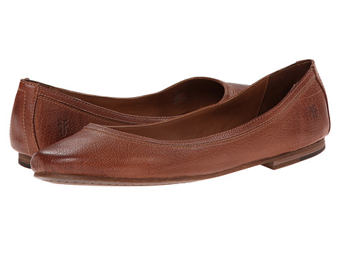 Shop Frye online and buy Frye Carson Ballet Cognac Leather Footwear - Zappos.com is proud to offer the Frye - Carson Ballet (Cognac Leather) - Footwear: This casual flat is anything but basic. With the comfort of a slipper and unmatched style, this is your 24/7 go-to shoe. ; Soft-as-butter, hand-antiqued, premium leather upper in a variety of fun colors. ; Smooth leather lining. ; Cushioned leather footbed provides endless comfort. ; Durable leather outsole with a rubber toplift. Measurements: ; Heel Height: 1 4 in ; Weight: 5 oz ; Product measurements were taken using size 6, width B - Medium. Please note that measurements may vary by size.