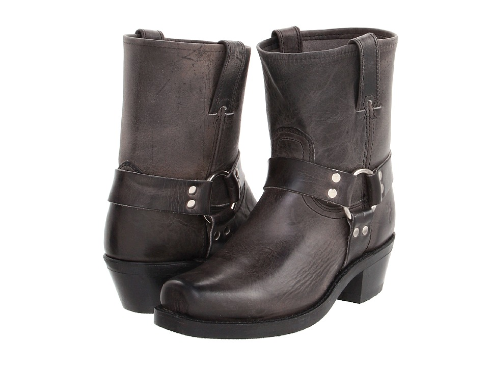 Shop Frye online and buy Frye Harness 8R (Charcoal Old Town) Women's Pull-on Boots online