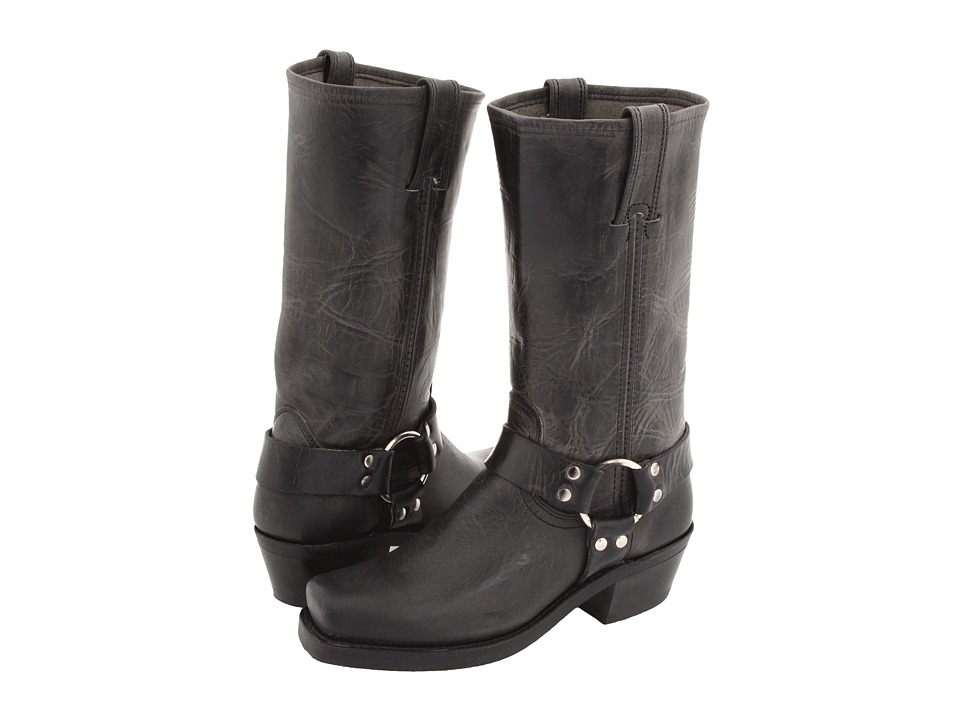 Frye Harness 12R (Charcoal Old Town) Women's Pull-on Boots