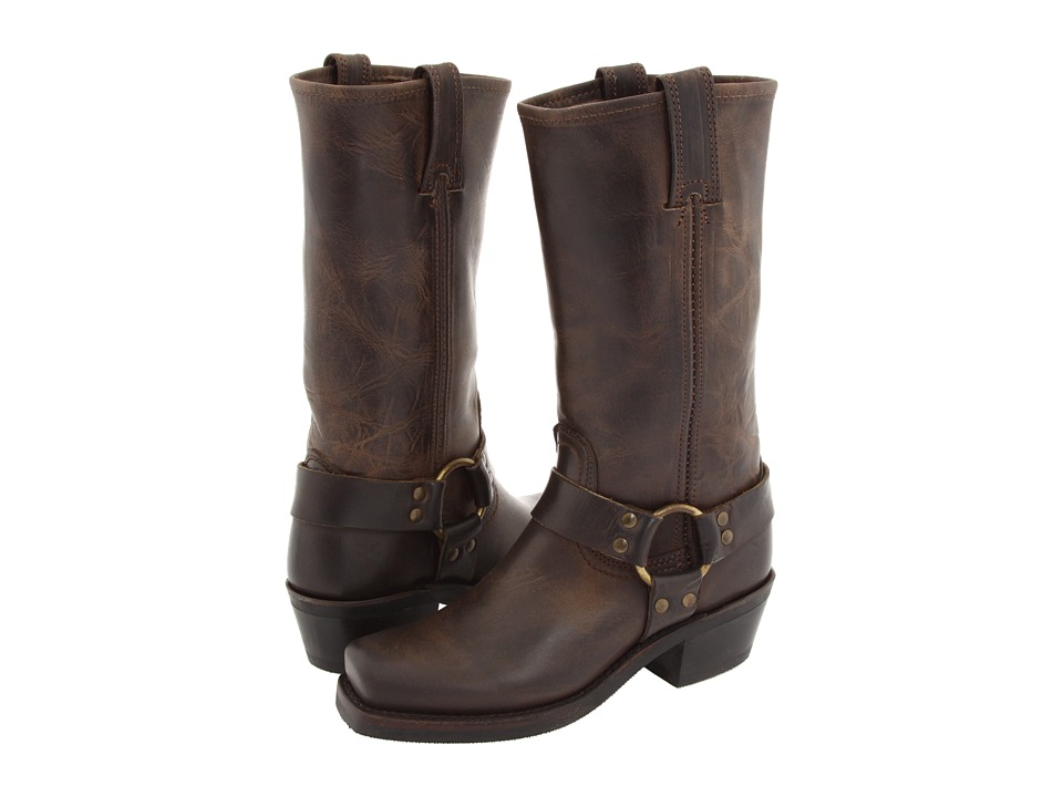 Frye Harness 12R (Smoke Old Town) Women's Pull-on Boots
