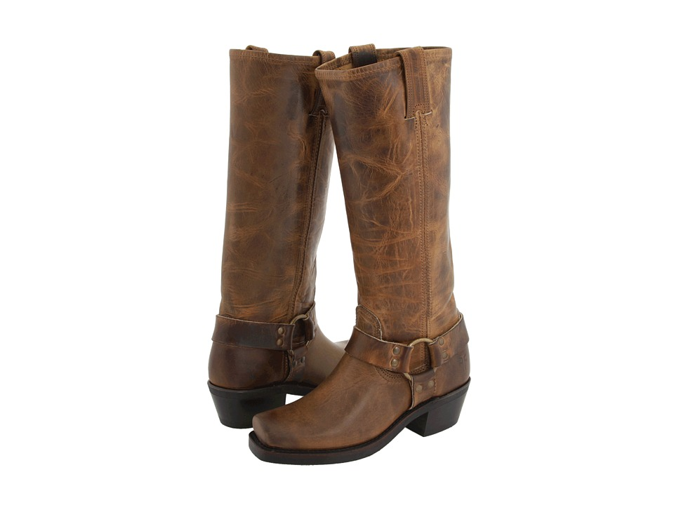 Frye Harness 15R (Dark Brown Old Town) Women's Pull-on Boots
