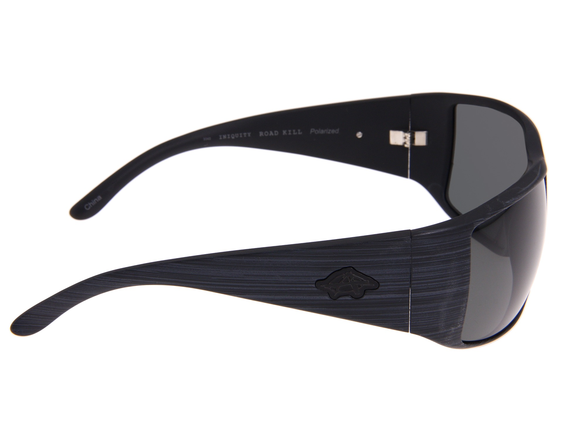 anarchy eyewear iniquity polarized road kill smoke