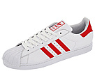 adidas Originals - Superstar 2 (Running White/Light Scarlet/Running White) - Footwear