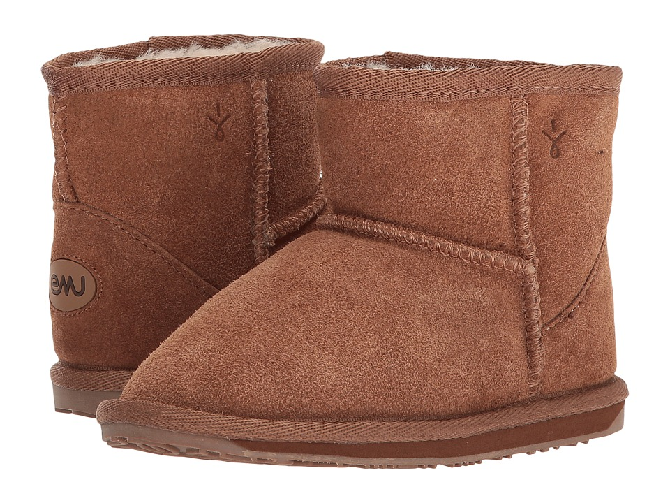 EMU Australia Kids - Wallaby Mini (Toddler/Little Kid) (Chestnut) Kids Shoes