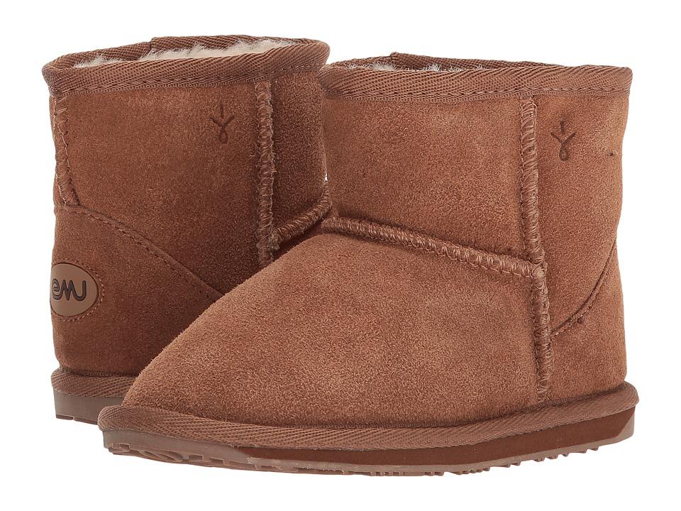 EMU Australia Kids Wallaby Mini (Toddler/Little Kid) (Chestnut) Kids Shoes