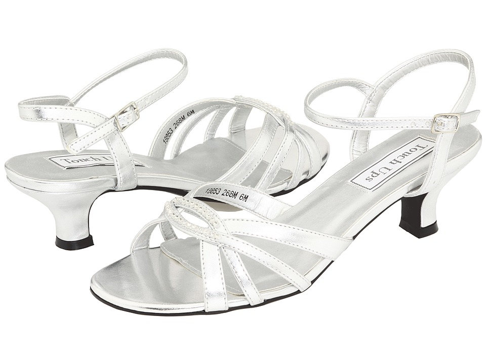 Touch Ups Dakota (Silver) Sandals