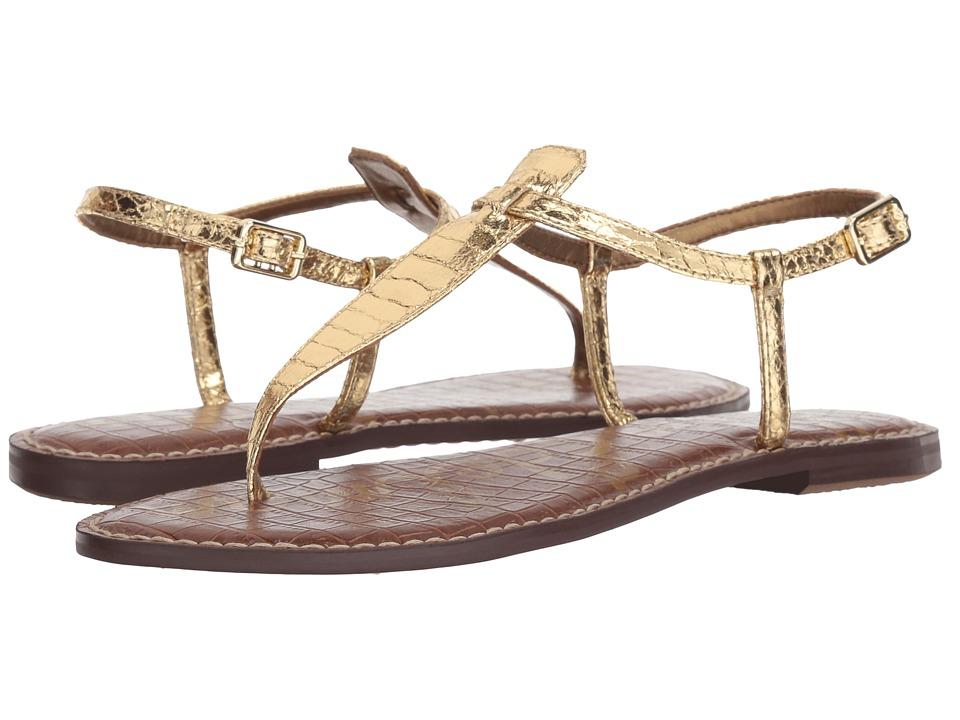 Sam Edelman Gigi (Gold Boa Print) Sandals