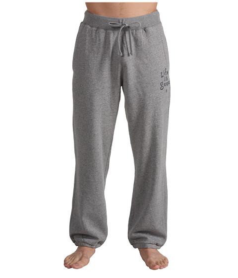 Life is good - Softwash Sweatpants (Heather Grey Tweed) - Apparel
