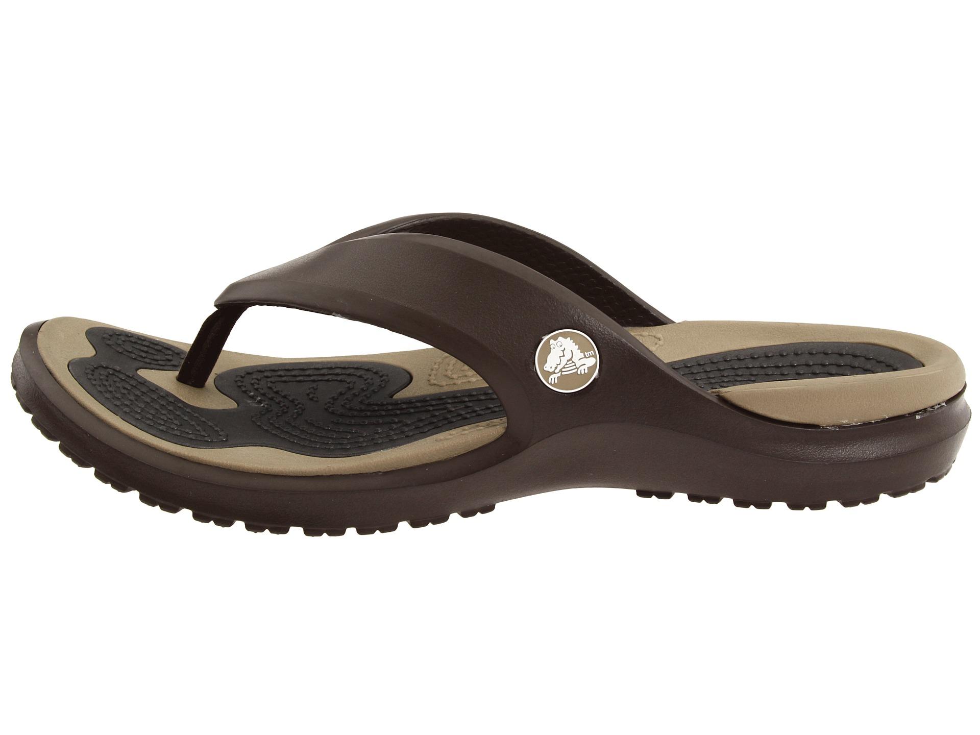 crocs modi flip shoes shipped free at zappos. Black Bedroom Furniture Sets. Home Design Ideas