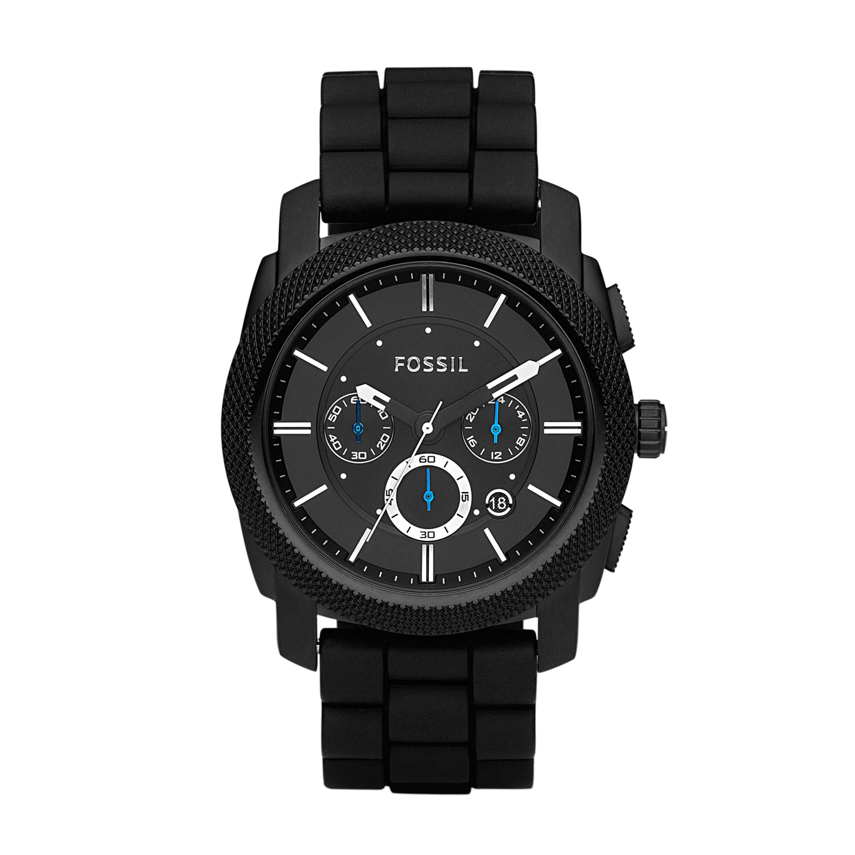 Fossil - Machine - FS4487 (Black) Watches