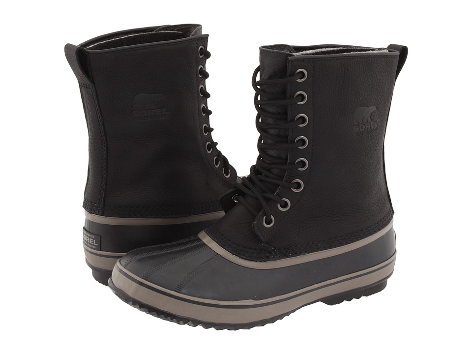 SOREL 1964 Premium T Black Mens Cold Weather Boots