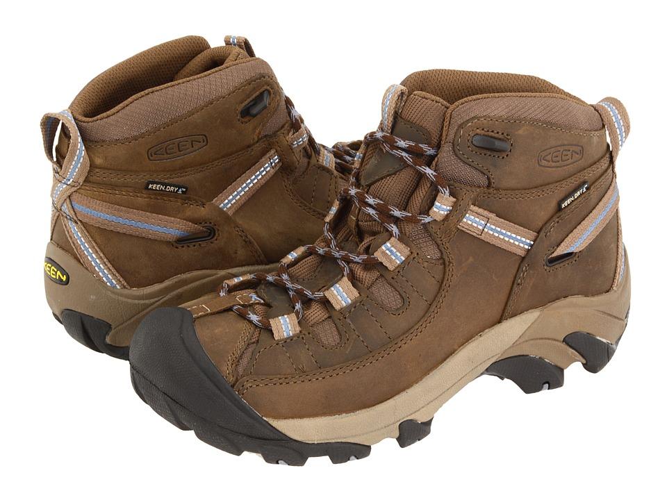 Keen Targhee II Mid (Slate Black/Flint Stone) Women's Hiking Boots