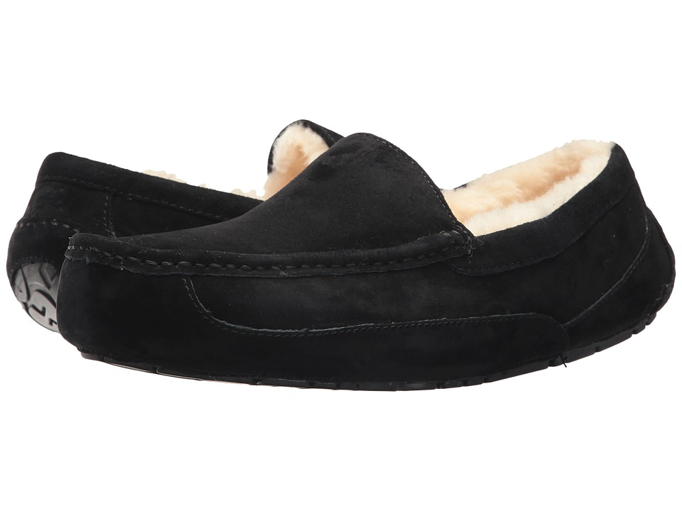 UGG - Ascot (Black Suede) Men
