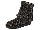 UGG - Classic Cardy (Black/Gold Knit) - Footwear