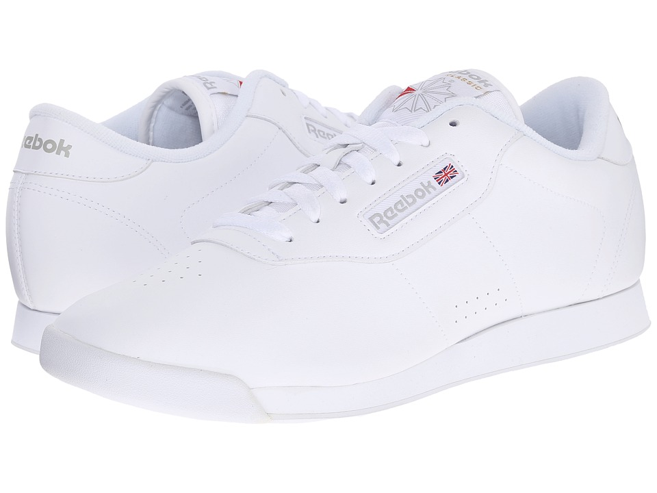 Reebok Lifestyle - Princess (White) Womens Classic Shoes