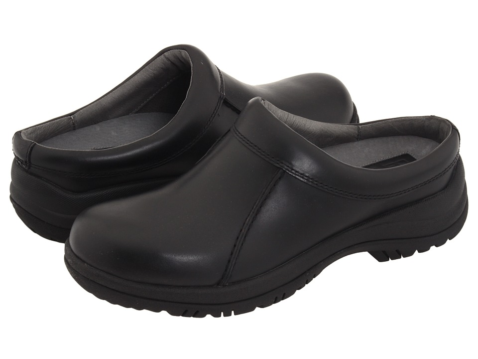 Dansko - Wil (Black Smooth Leather) Mens Clog Shoes