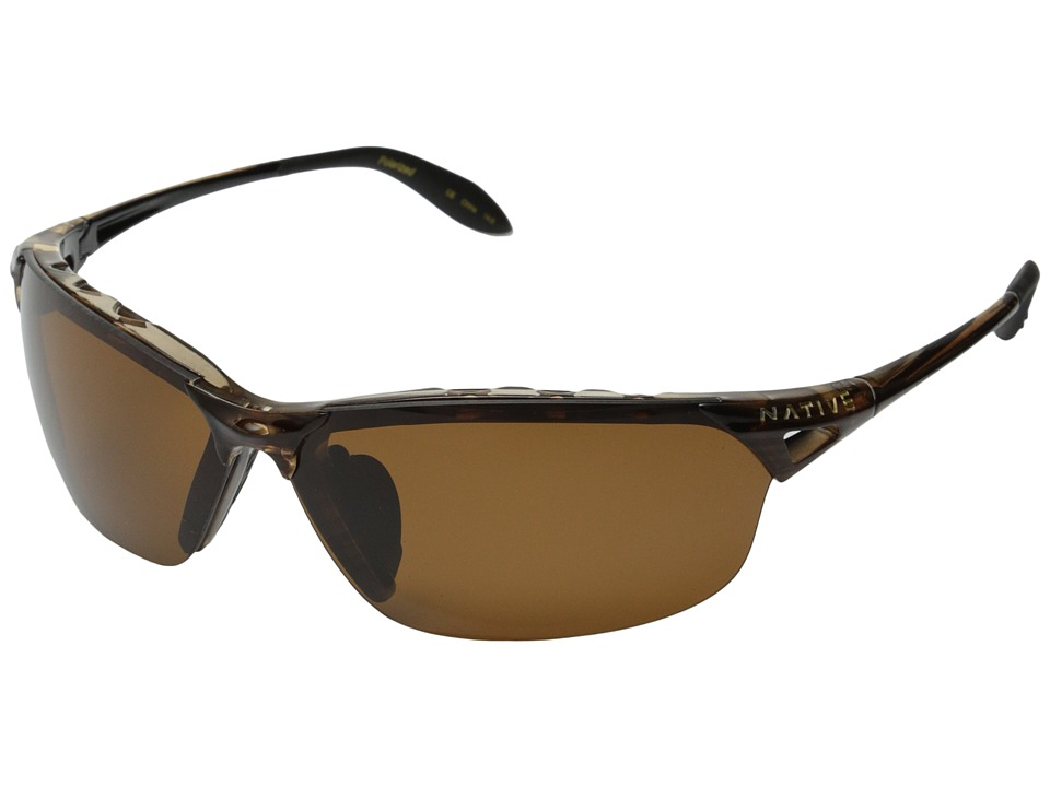 Native Eyewear Vigor Polarized (Wood/Brown Polarized Lens) Sport Sunglasses
