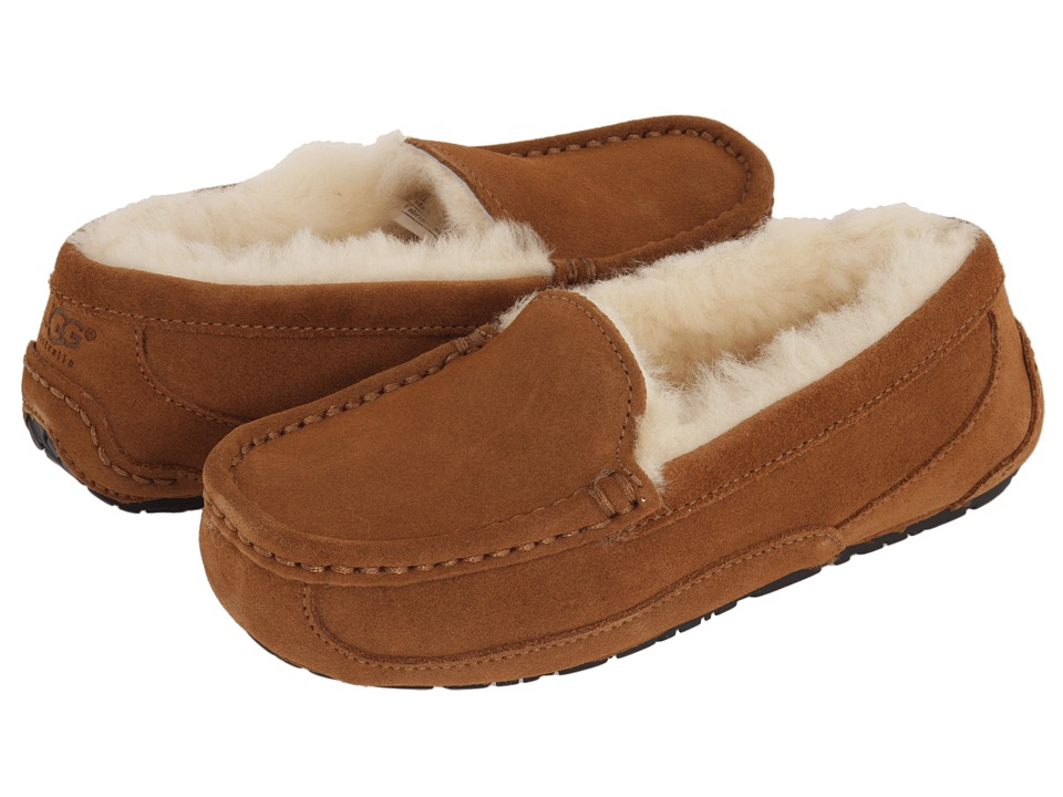 UGG Kids Ascot Little Kid/Big Kid Chestnut Kids Shoes