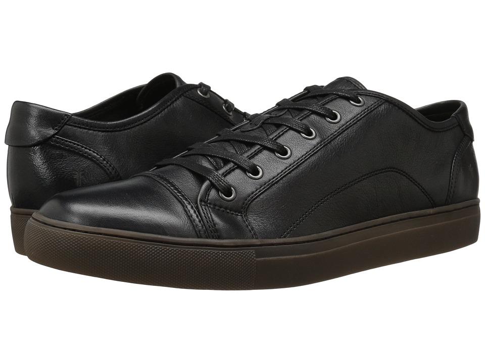 Frye - Justin Low Lace (Black Vintage Leather) Men