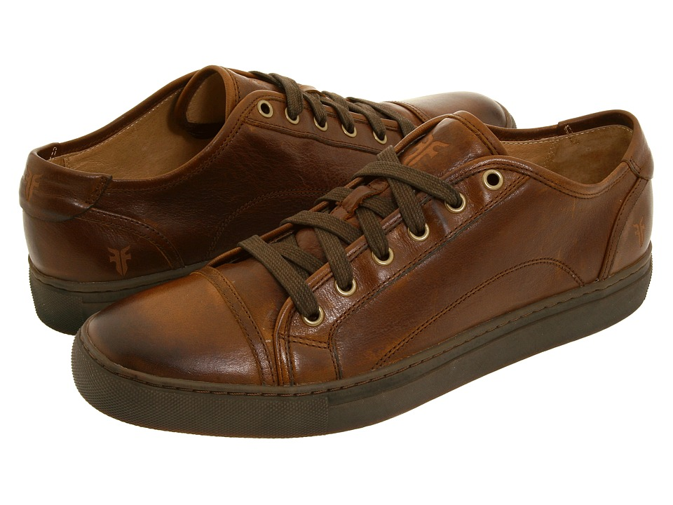 Frye Justin Low Lace (Brown Vintage Leather) Men