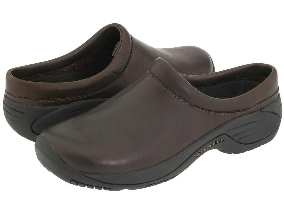 Merrell Encore Gust (Smooth Bug Brown Leather) Men's Slip...