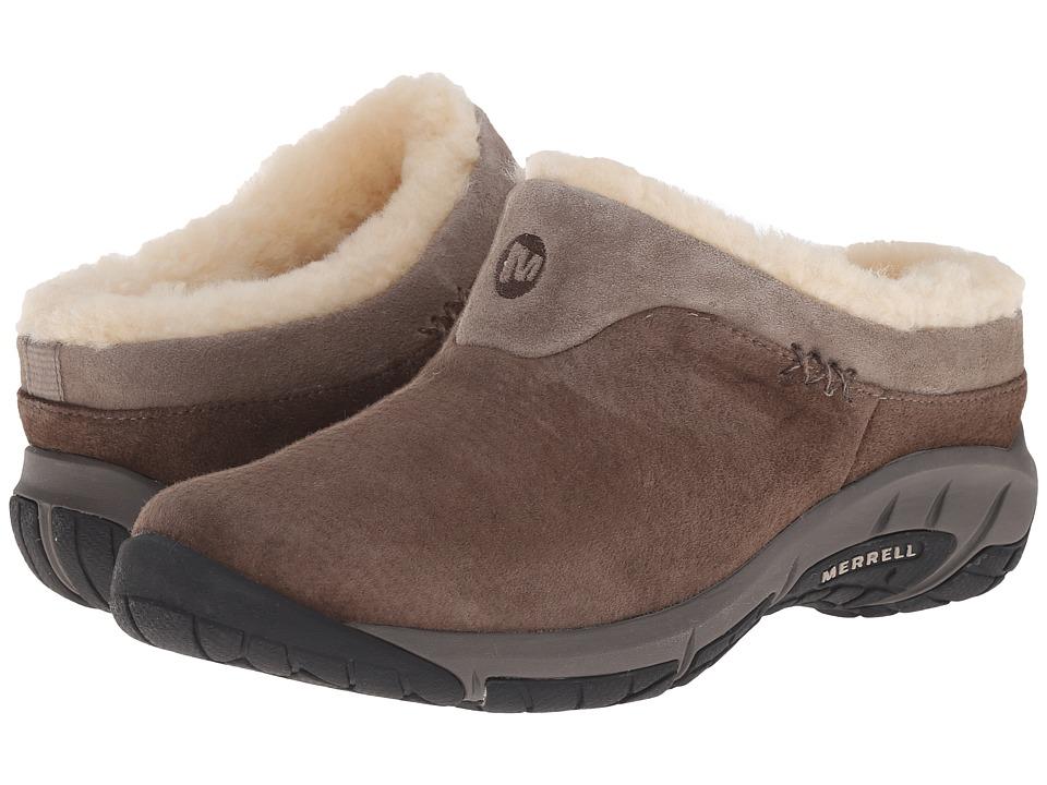Merrell Encore Ice (Merrell Stone Leather) Women's Clogs