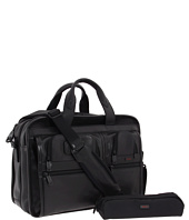Tumi - Alpha - Expandable Leather Organizer Computer Brief