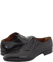 A. Testoni - Cap Toe Lace Up Oxford