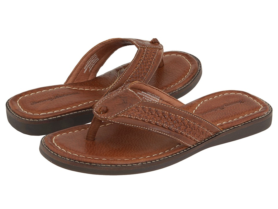 Tommy Bahama - Anchors Away (Brown Leather) Men