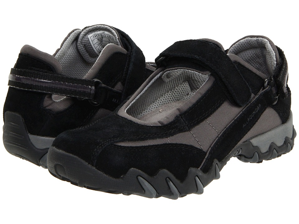 Mephisto Niro (Black Suede/Mesh) Women's Maryjane Shoes