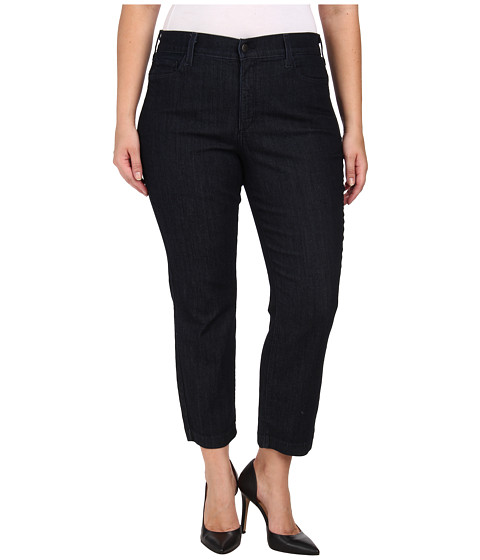 NYDJ Plus Size - Plus Size Audrey Ankle Jean (Stone) - Apparel