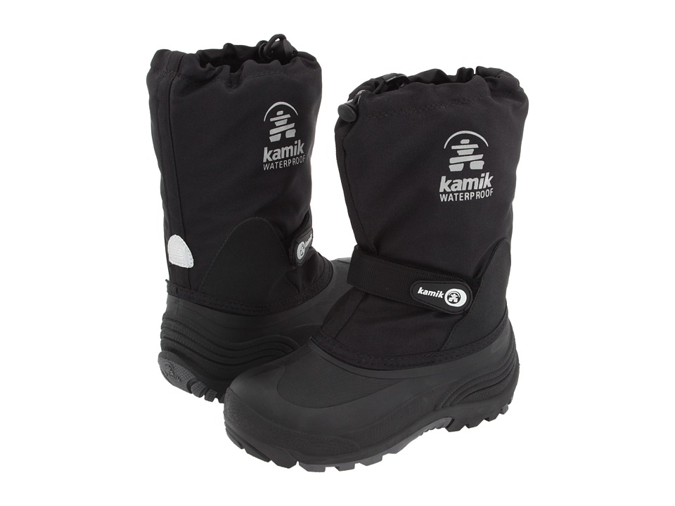 Kamik Kids Waterbug Wide Toddler/Little Kid/Big Kid Black 2 Boys Shoes