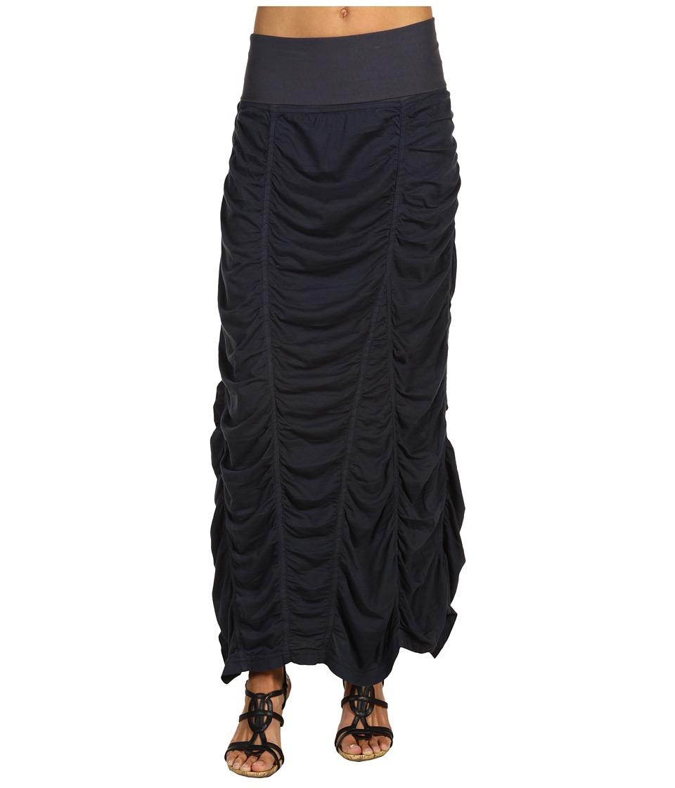 XCVI Jersey Peasant Skirt Charcoal Womens Skirt