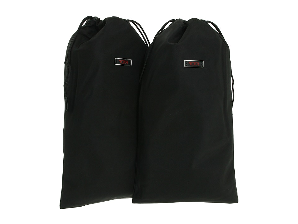 Tumi - Packing Accessories - Shoe Bags (pair) (Black) Travel Pouch