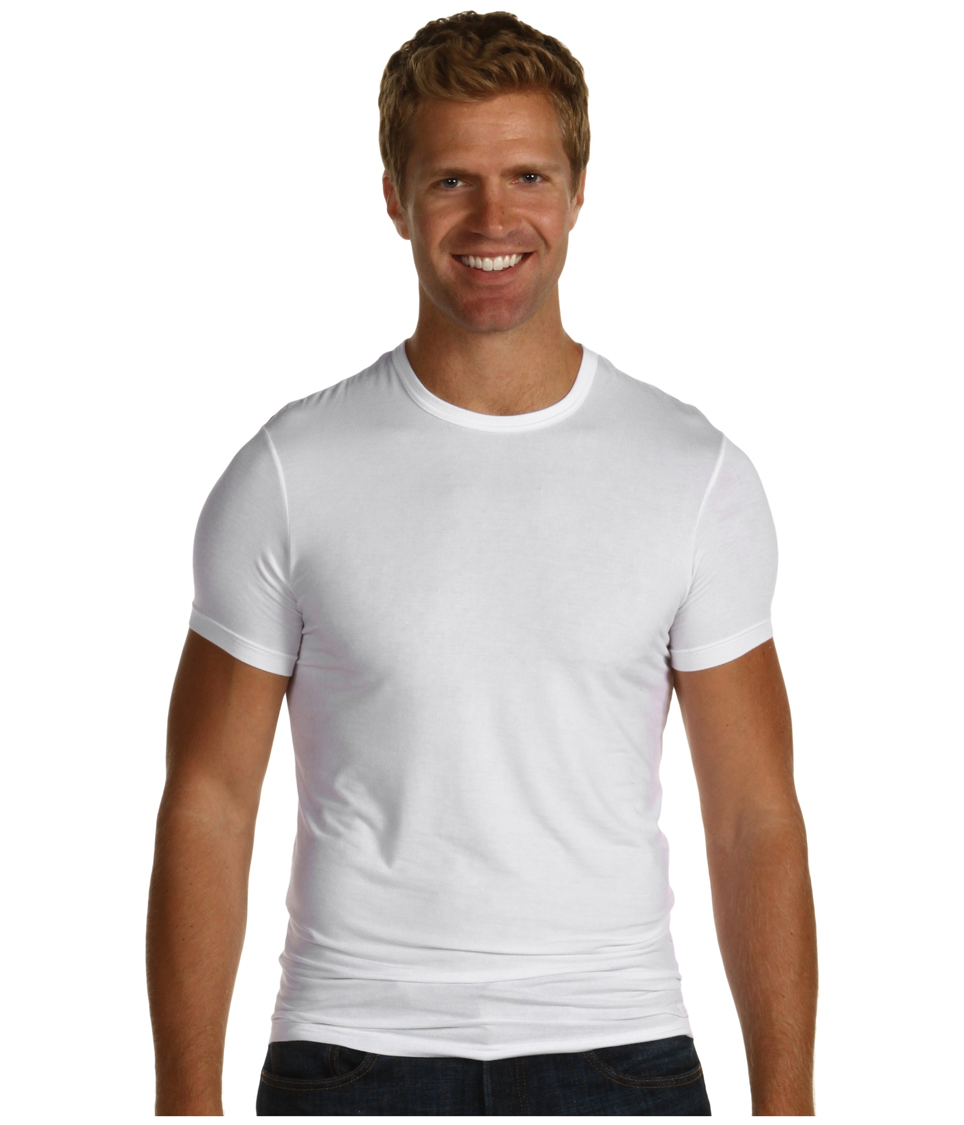 White t shirt calvin klein - White T Shirt Calvin Klein 40