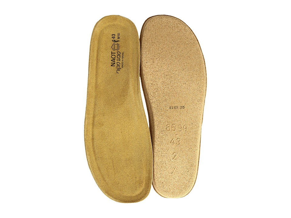 Naot Footwear FB02 Scandinavian Replacement Footbed Natural Mens Insoles Accessories Shoes