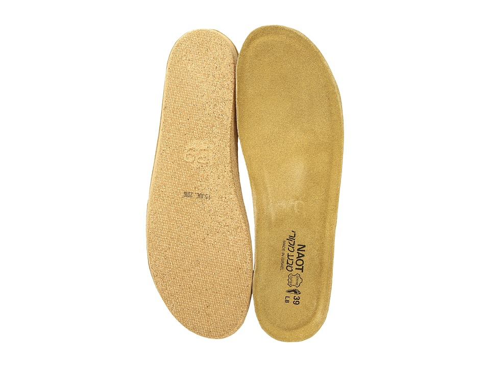Naot Footwear FB01 Scandinavian Replacement Footbed Natural Womens Insoles Accessories Shoes