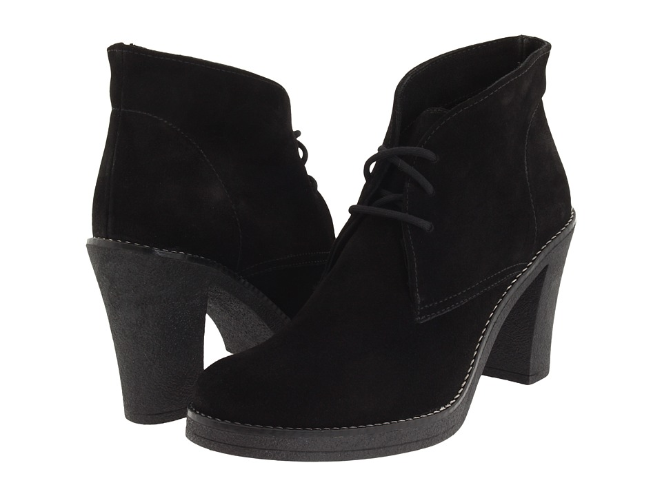 La Canadienne - Korey (Black Suede) Women