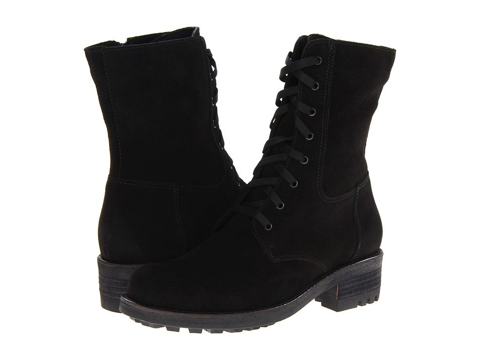 La Canadienne - Carolina (Black Suede) Women